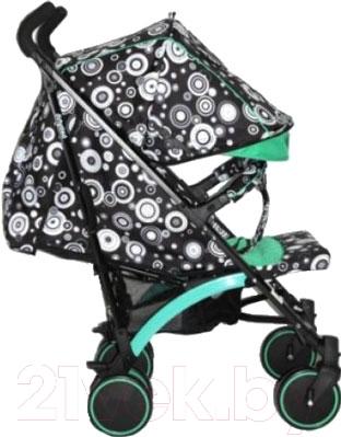 Детская прогулочная коляска Babyhit Rainbow (Black-Green)