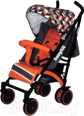 Детская прогулочная коляска Babyhit Rainbow (Orange Diamond)