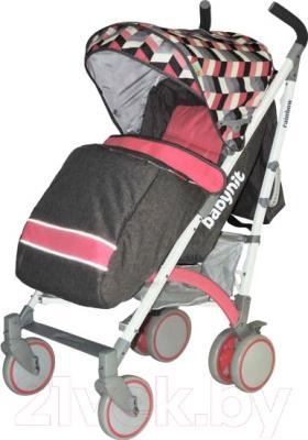 Детская прогулочная коляска Babyhit Rainbow (Pink Diamond)