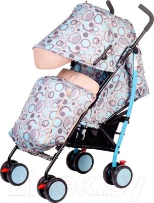 Детская прогулочная коляска Babyhit Wonder (Blue)