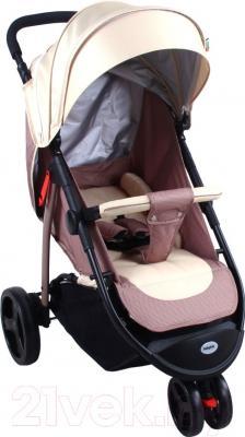 Детская прогулочная коляска Babyhit Trinity (Beige)