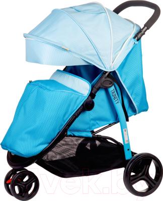 Детская прогулочная коляска Babyhit Trinity (Blue)