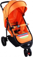 Детская прогулочная коляска Babyhit Trinity (Orange) -