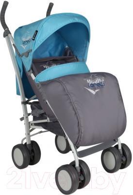 Детская прогулочная коляска Lorelli S100 (Blue-Gray)