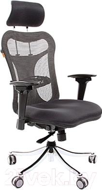 Кресло офисное Chairman 769 (TW-12, серый)
