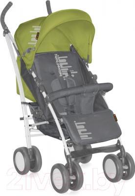 Детская прогулочная коляска Lorelli S100 (зеленый/серый)
