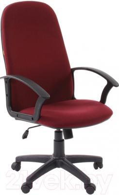 Кресло офисное Chairman 289 (10-361, бордовый)