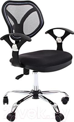 Кресло офисное Chairman 380 (TW11\TW01, черный)