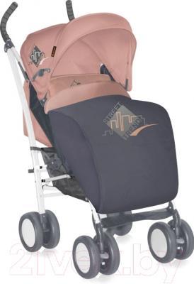 Детская прогулочная коляска Lorelli S100 (серый/бежевый)