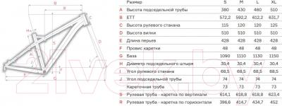 Велосипед Format 1313 2016 (S, серый матовый)