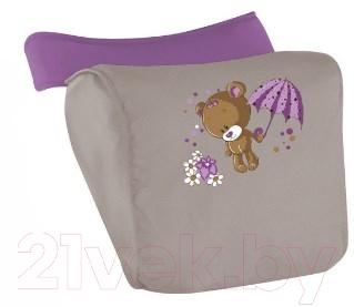 Детская прогулочная коляска Lorelli Smarty (Beige Violet Bear)
