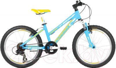 Детский велосипед Format 7423 Girl (синий матовый)