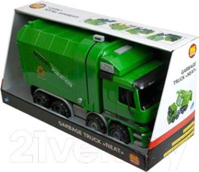 Детская игрушка Big Motors Мусоровоз Чистюля 9998-17