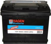 Автомобильный аккумулятор Hagen 55565 (55 А/ч) -
