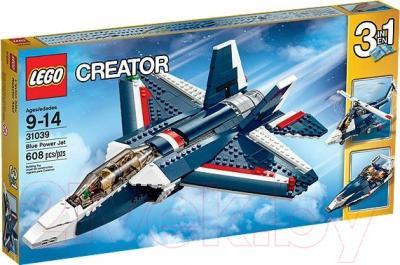 Конструктор Lego Creator Синий реактивный самолет (31039)
