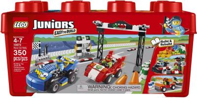Конструктор Lego Juniors Ралли на гоночных автомобилях (10673)