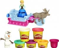 Набор для лепки Hasbro Play-Doh Приключение Анны на санях (B1860) -