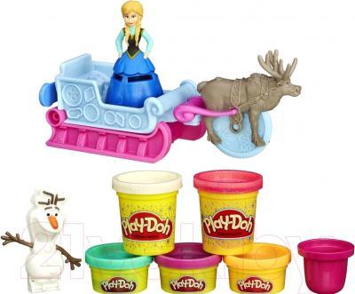 Набор для лепки Hasbro Play-Doh Приключение Анны на санях (B1860)