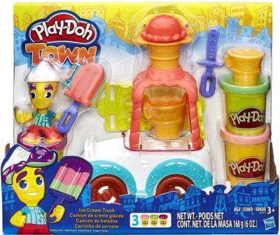 Игровой набор Hasbro Play-Doh Грузовичок с мороженым (B3417)
