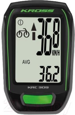 Велокомпьютер Kross KRC 309 (черный)
