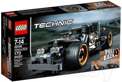 Конструктор Lego Technic Гоночный автомобиль для побега (42046)