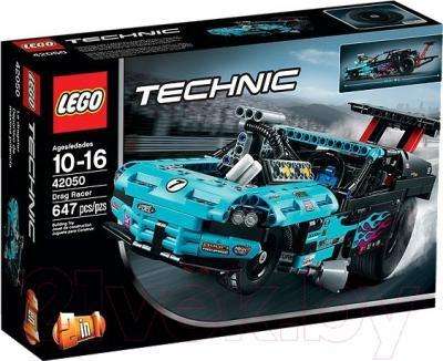Конструктор Lego Technic Драгстер (42050)