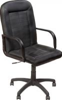 Кресло офисное Новый Стиль Mustang (ECO-30, черный) -