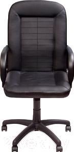 Кресло офисное Новый Стиль Mustang (ECO-30, черный)