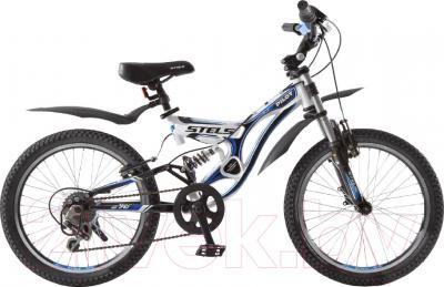 Велосипед Stels Pilot 270 2016 (белый/черный/синий)