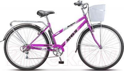 Велосипед Stels Navigator 350 Lady 2016 (фиолетовый)