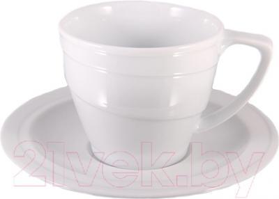 Чашка с блюдцем BergHOFF 1690216