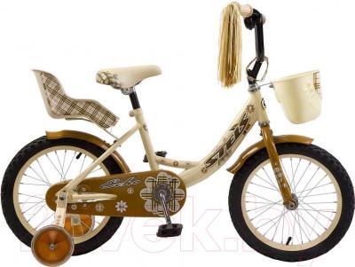 Детский велосипед Stels Echo 16 2016 (желтый/коричневый)