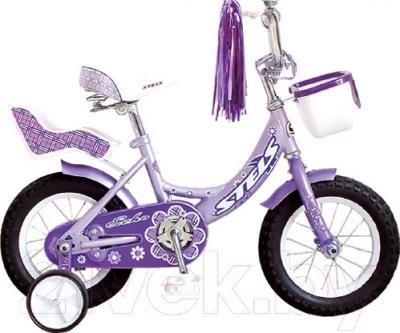 Детский велосипед Stels Echo 2016 (16, фиолетовый)