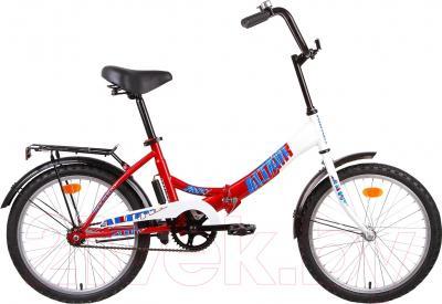 Детский велосипед Forward Altair City Girl 12 (белый/фуксия)