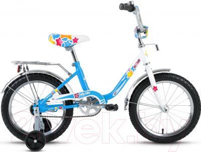 Детский велосипед Forward Altair City Girl 16 (белый/синий)