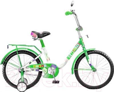 Детский велосипед Stels Flash 2015 (14, зеленый)