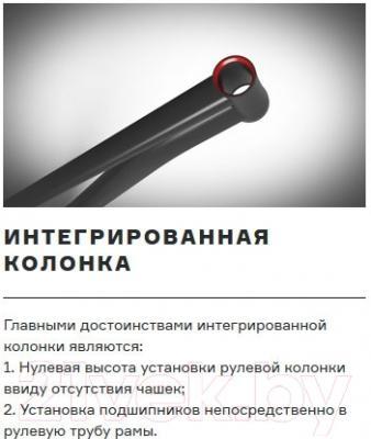 Велосипед Format 1214 27.5 (L, красный матовый)
