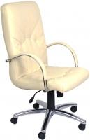 Кресло офисное Nowy Styl Manager Steel Chrome (SP-J, бежевый) -