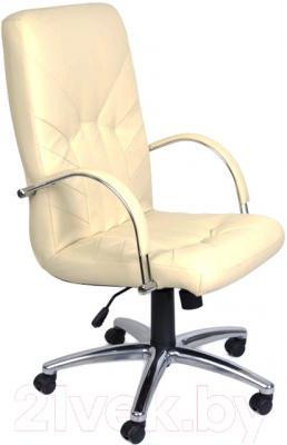 Кресло офисное Nowy Styl Manager Steel Chrome (SP-J, бежевый)