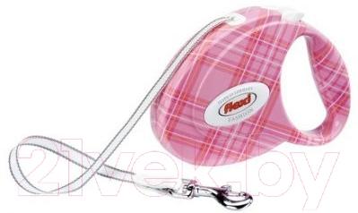 Поводок-рулетка Flexi Fashion Ladies Pink FLX027 (M)