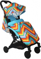 Детская прогулочная коляска Babyhit Amber (Zigzag Blue) -