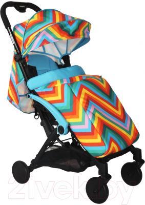 Детская прогулочная коляска Babyhit Amber (Zigzag Blue)