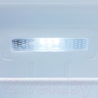 Холодильник с морозильником Samsung RB33J3301SA/WT