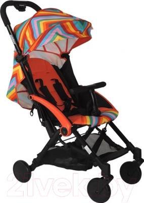 Детская прогулочная коляска Babyhit Amber (Zigzag Red)