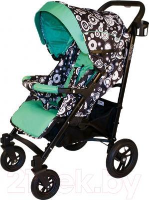 Детская прогулочная коляска Babyhit Drive (Black-Green)