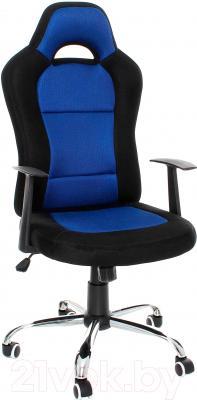 Кресло офисное Calviano Drift 13301 (черный/синий)