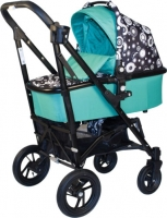 Детская универсальная коляска Babyhit Drive 2 (Black-Green) -