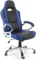Кресло офисное Calviano Racer (черно-синий) -