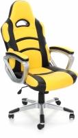 Кресло офисное Calviano Racer (черно-желтый) -