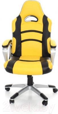 Кресло офисное Calviano Racer (черно-желтый)